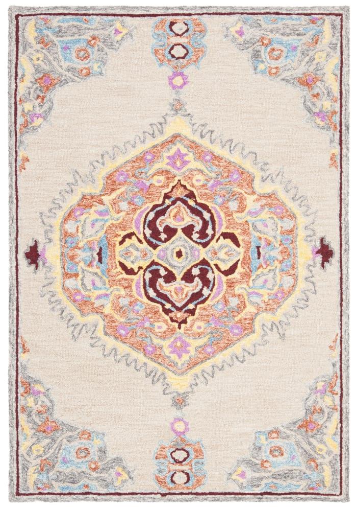 Natural Wool Rug 4' x 6'