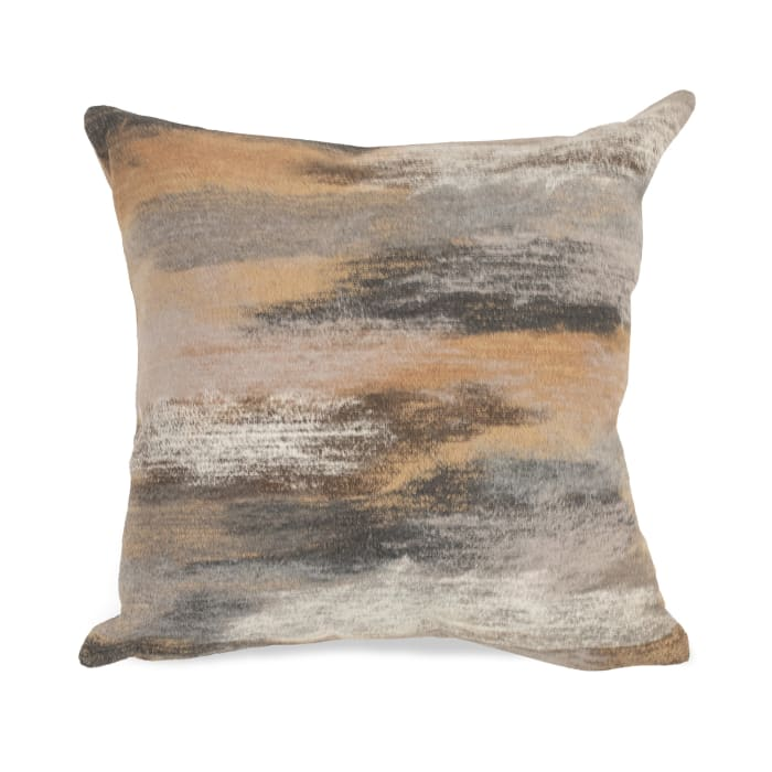 Taupe Outdoor Pillow