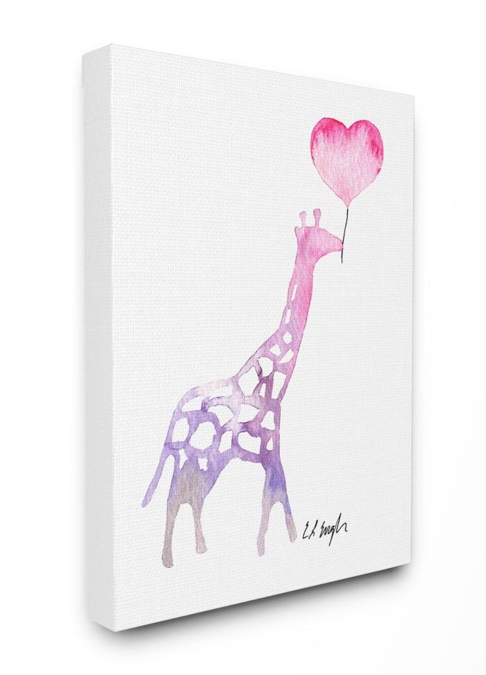 Giraffe Love Wall Art