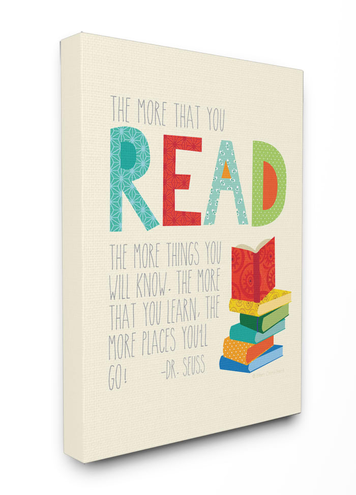Reading Knowledge Wall Art