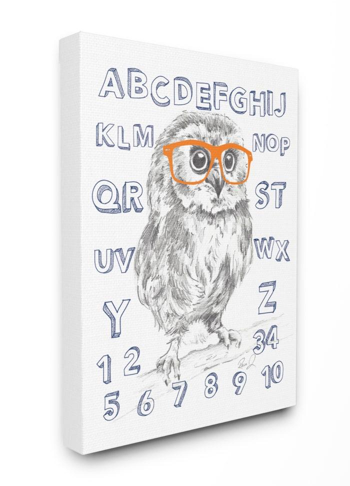 Alpha Owl Wall Art