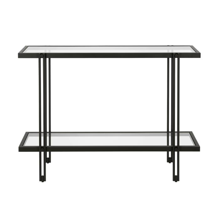 Inez Blackened Bronze Console Table