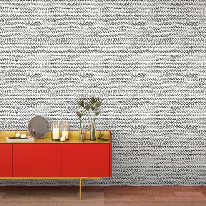 Moire Dots Removable Wallpaper