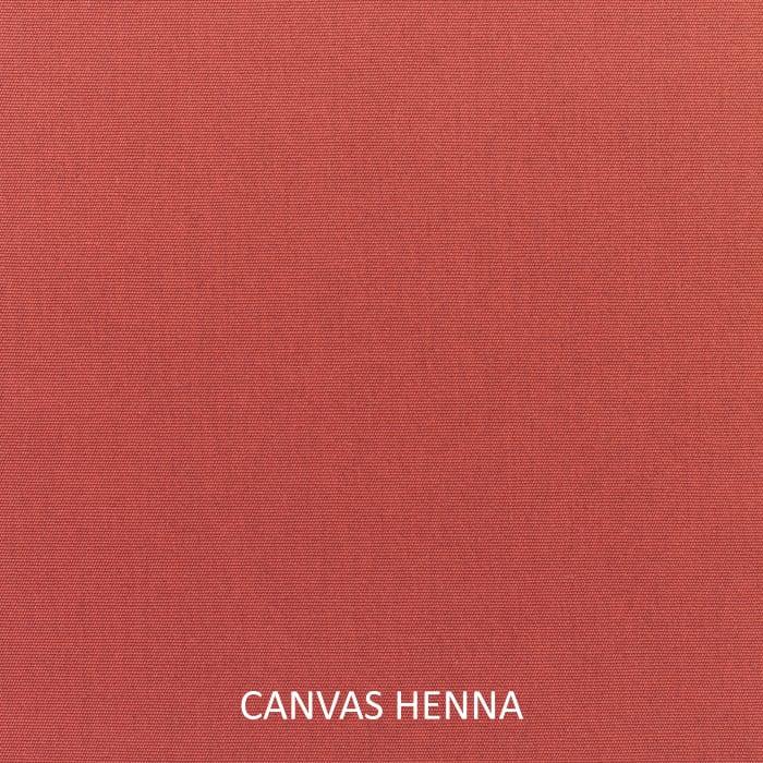 Sunbrella Oversized Corded in Canvas Henna Outdoor Pillows Set of 2
