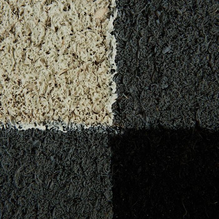 Black & White Buffalo Check Doormat