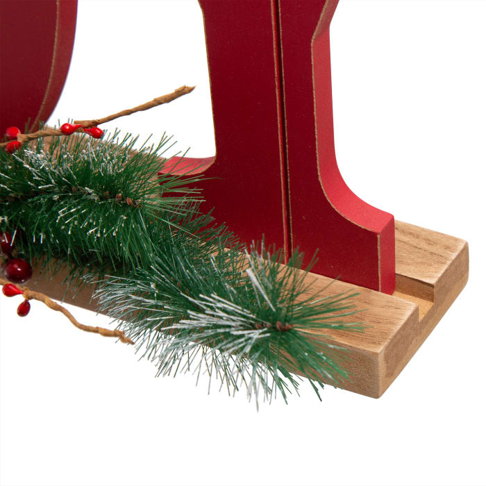 Wooden Christmas JOY Table Decor