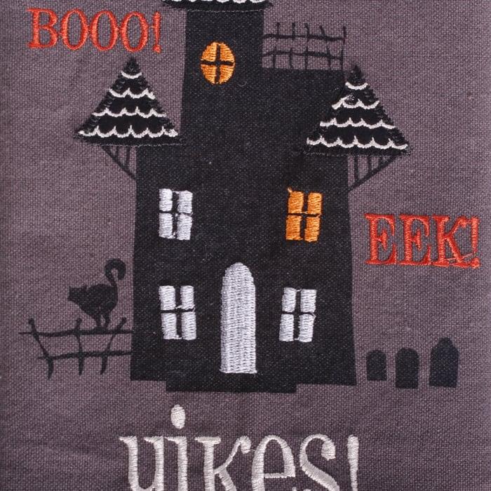 Assorted Halloween Embroidered Dishtowel (Set of 3)