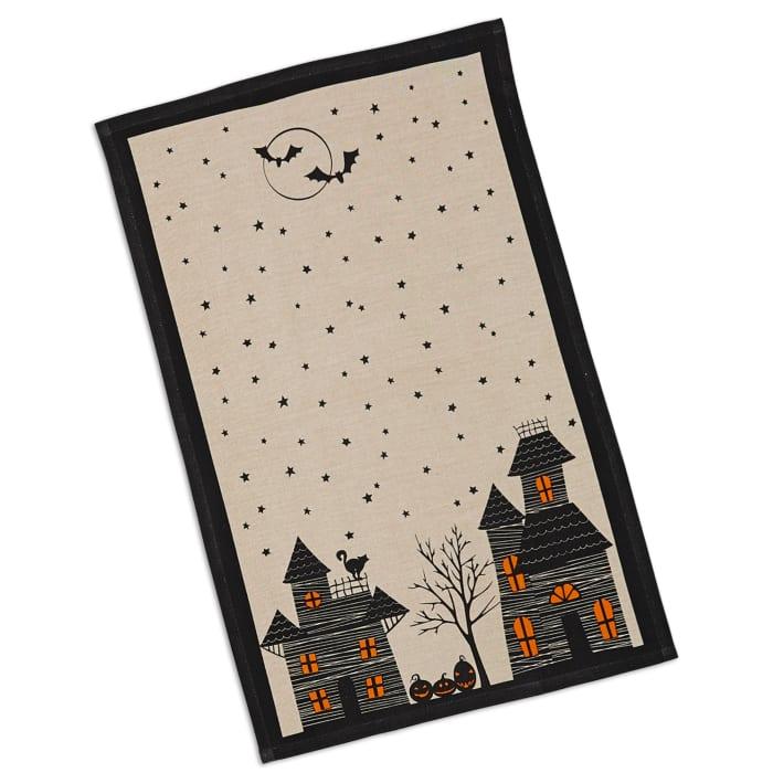 Haunted Hollow Printed Dishtowels