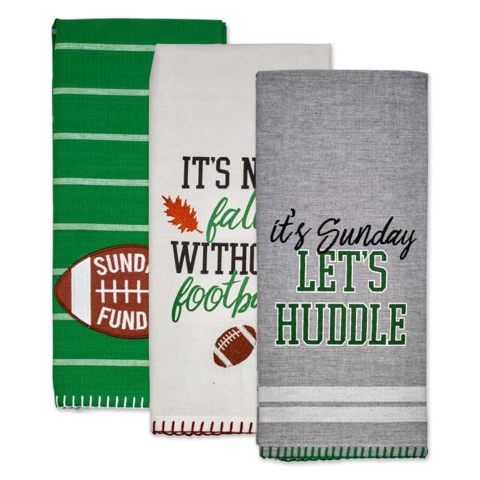 Sunday Football Dishtowels Set/3