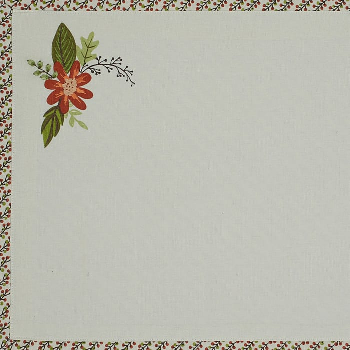 Fall In Love Placemat Set, 13x19