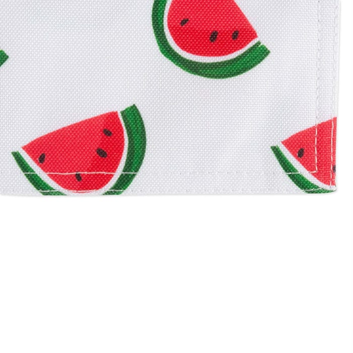 Watermelon Print Outdoor  Placemat (Set of 6)