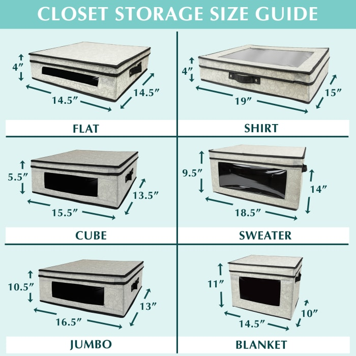 Closet Storage Shirt Gray