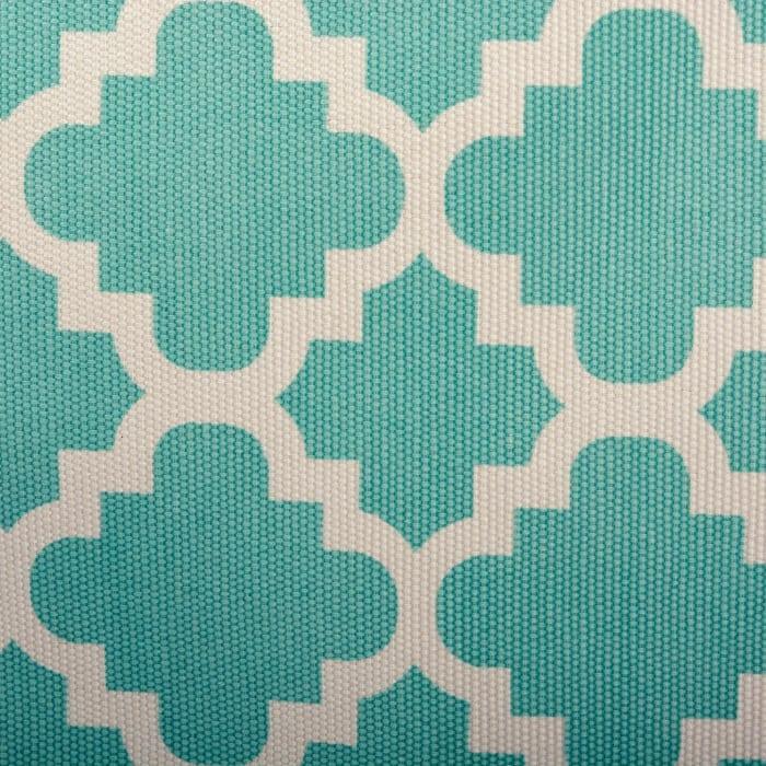 Polyester Bin Lattice Aqua Round Large 16x16x15