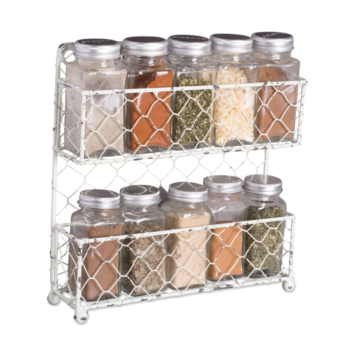 12-Piece Spice Jar Set With Chalkboard Labels