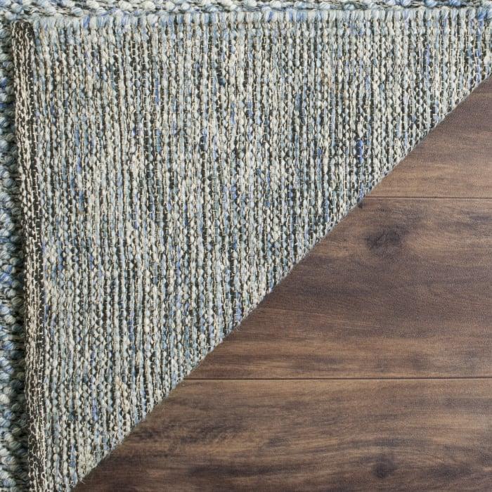 Blue Wool Rug  9' x 12'