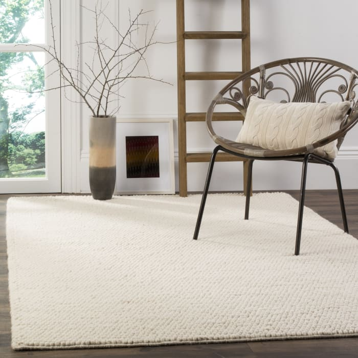 Chipley 620 9' X 12' Ivory Wool Rug