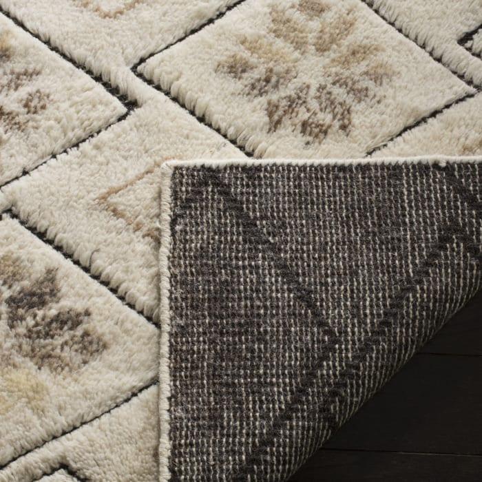 Ivory Wool Rug 6' x 9'