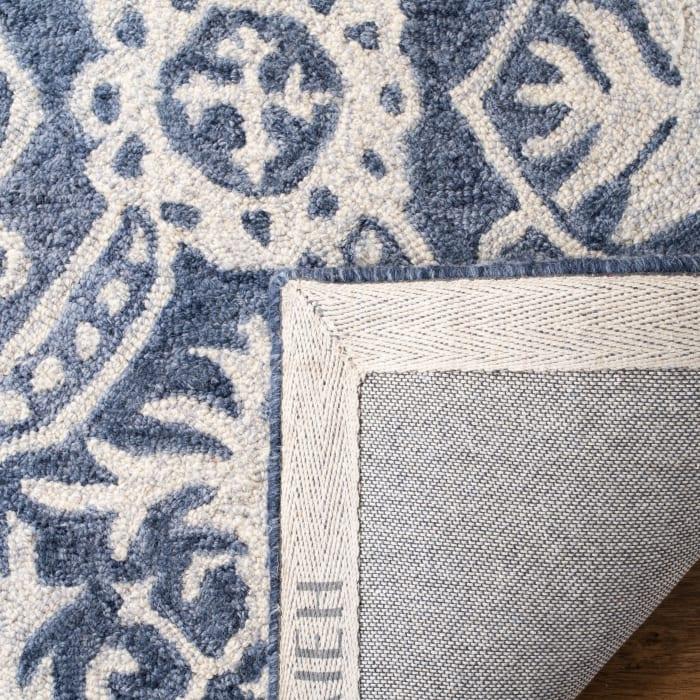 Blue Wool Rug 8' x 10'