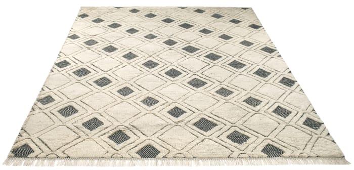 Ivory Wool Rug 9' x 12'