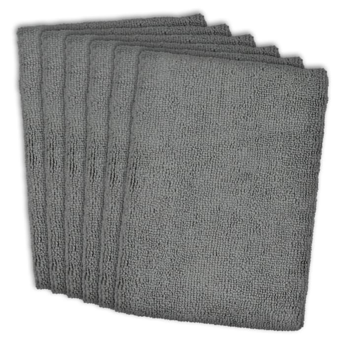 Gray Microfiber Dishtowel Set
