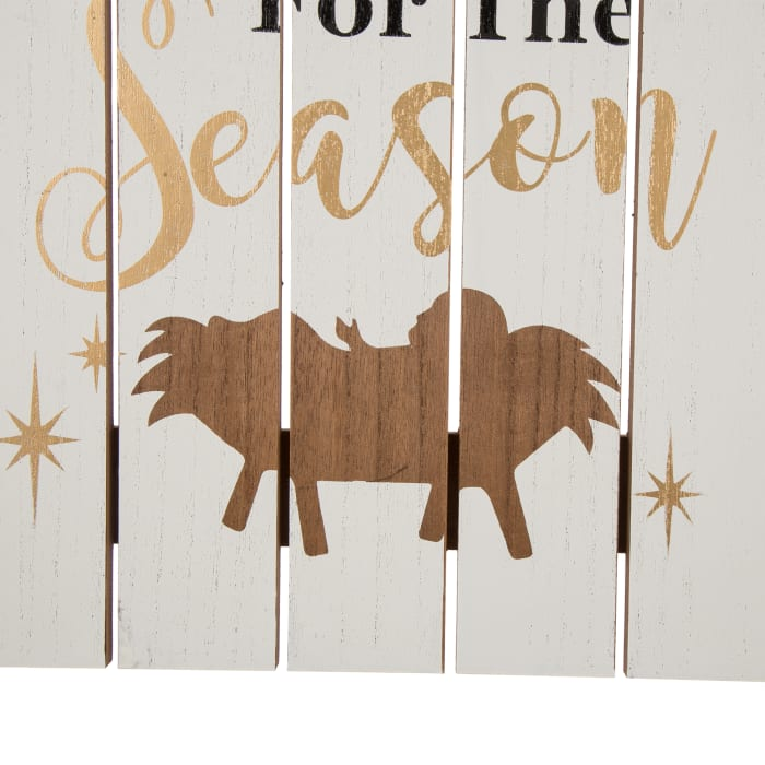 Reason for The Season Nativity Wall Decor