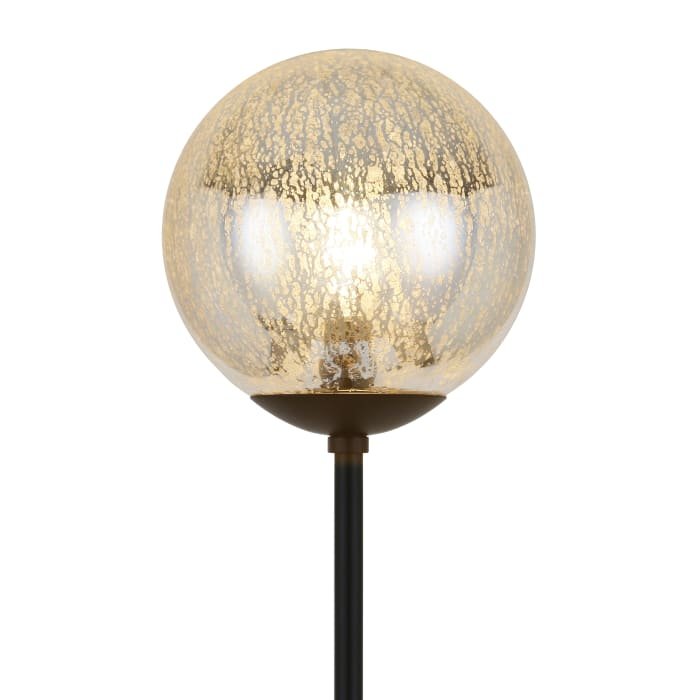 Mercury Glass Floor Lamp
