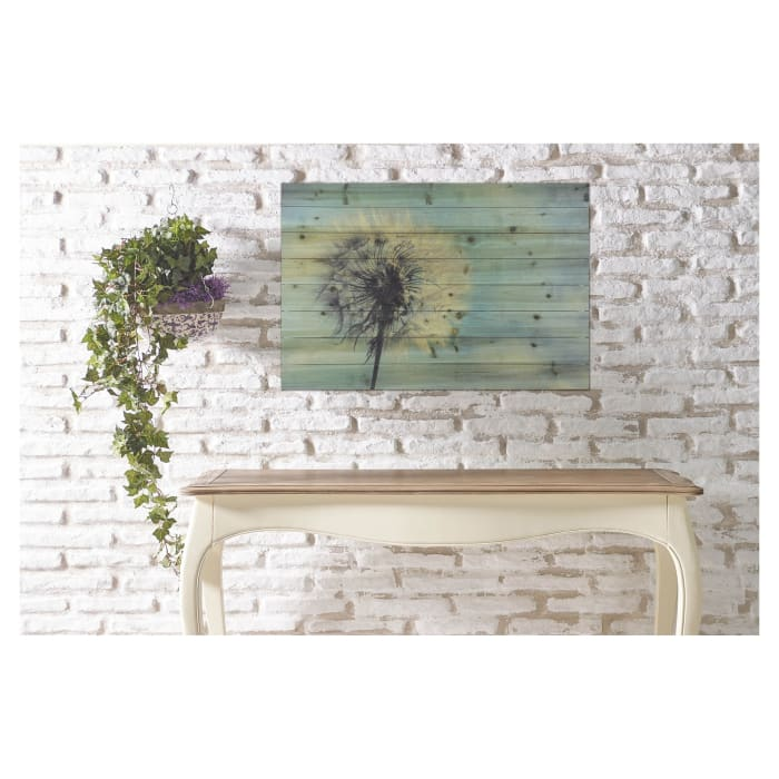 Large Dandelion Wooden Wall Decor