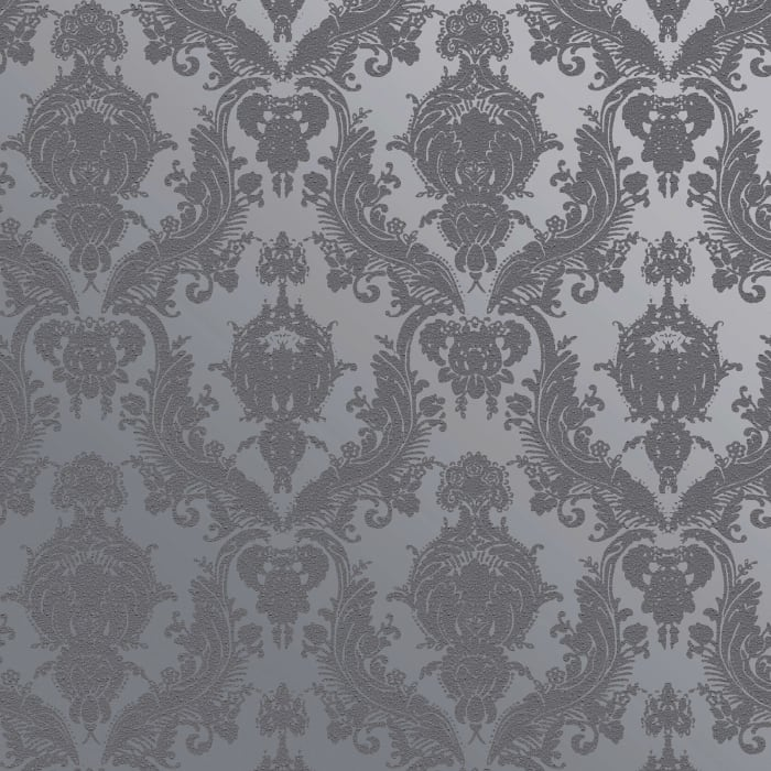 Textured Damsel Blue Pearl Self-Adhesive Removable Wallpaper Double Roll