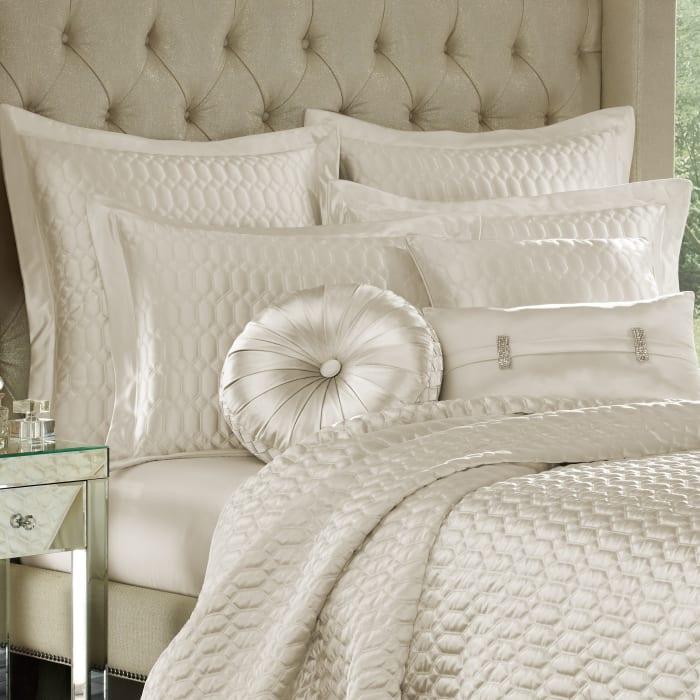Standard Quilted Sham Natural Pillow