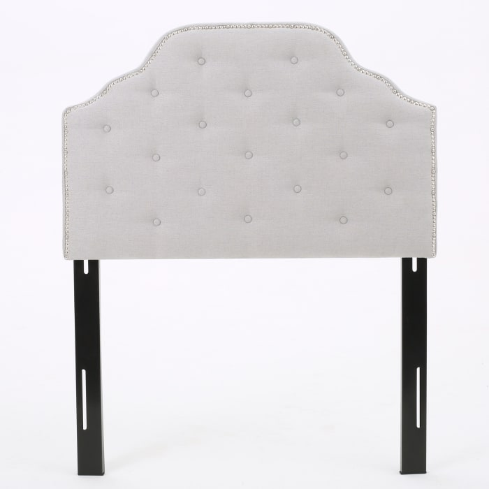 Light Gray Twin Headboard