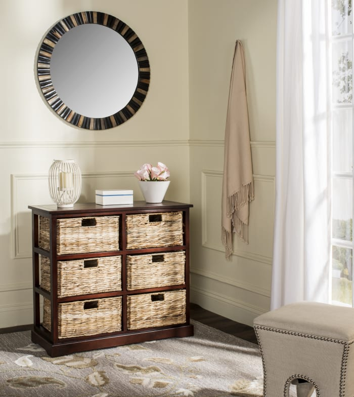 Brayden Brown 6 Basket Storage Chest