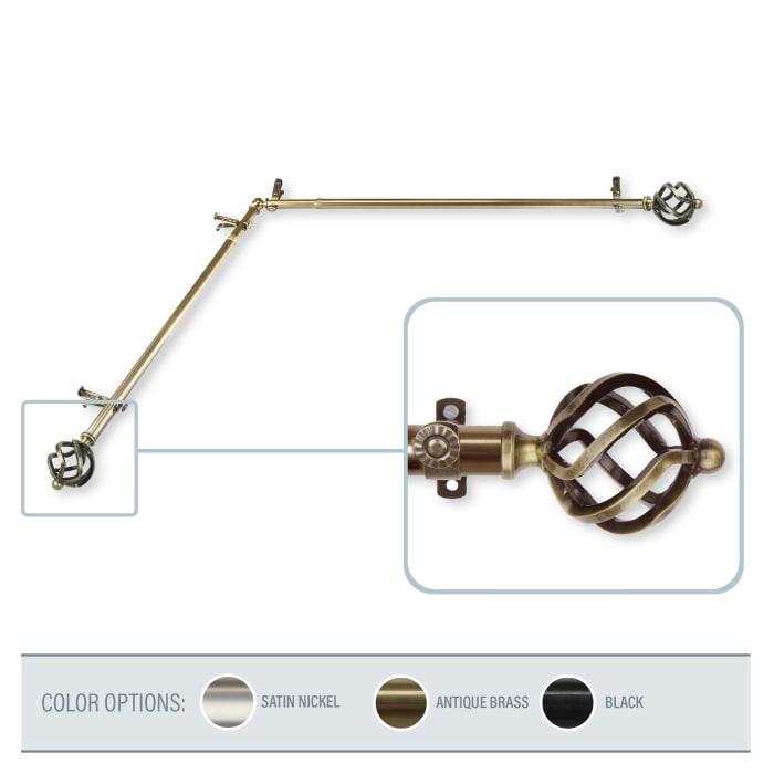 Twist Antique Brass 28