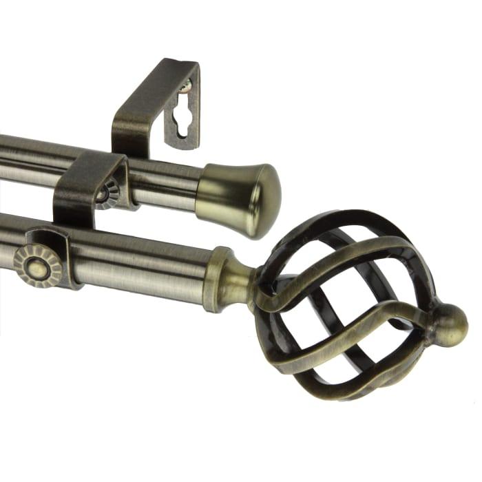 Twist Antique Brass 48