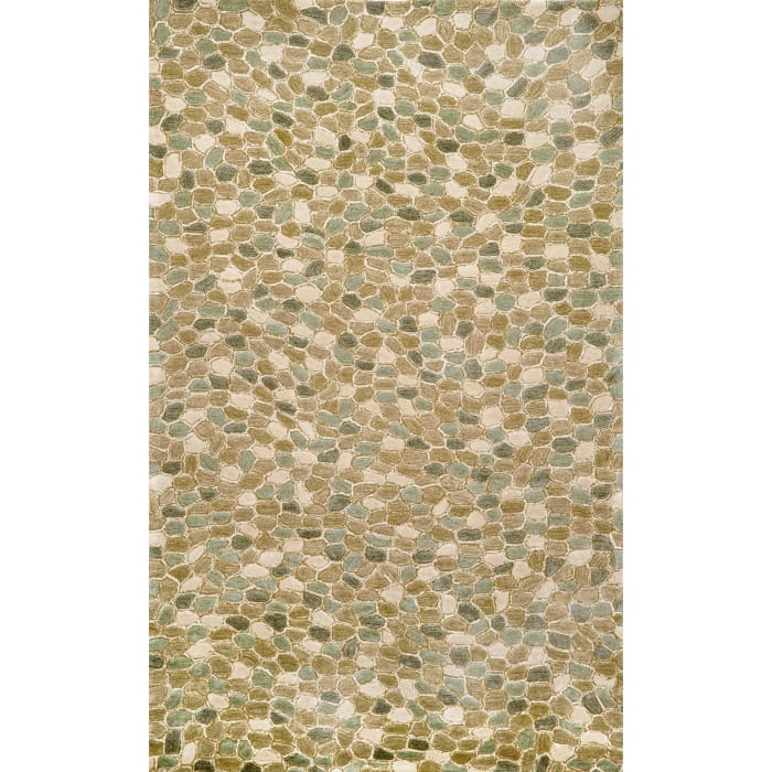 Green Pebbles Rug 7'6