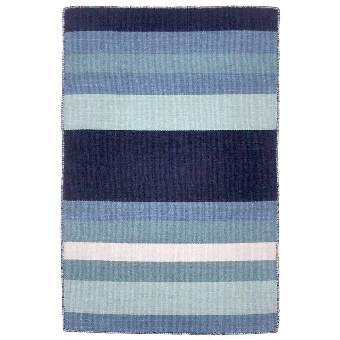 Blue Tribeca  Rug 2' x 3'