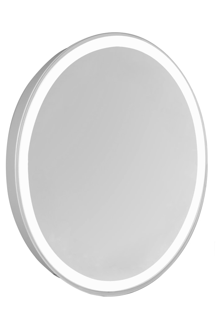 Dimmable 4-Sides LED Edge Oval Mirror
