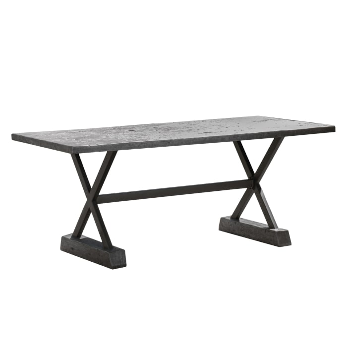 Gray Dining Table