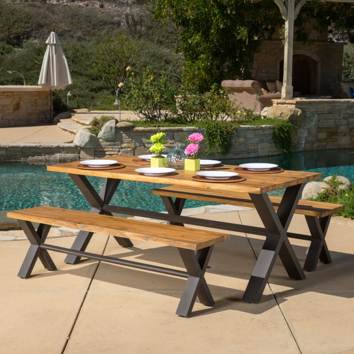 3-Piece Outdoor Dining Set