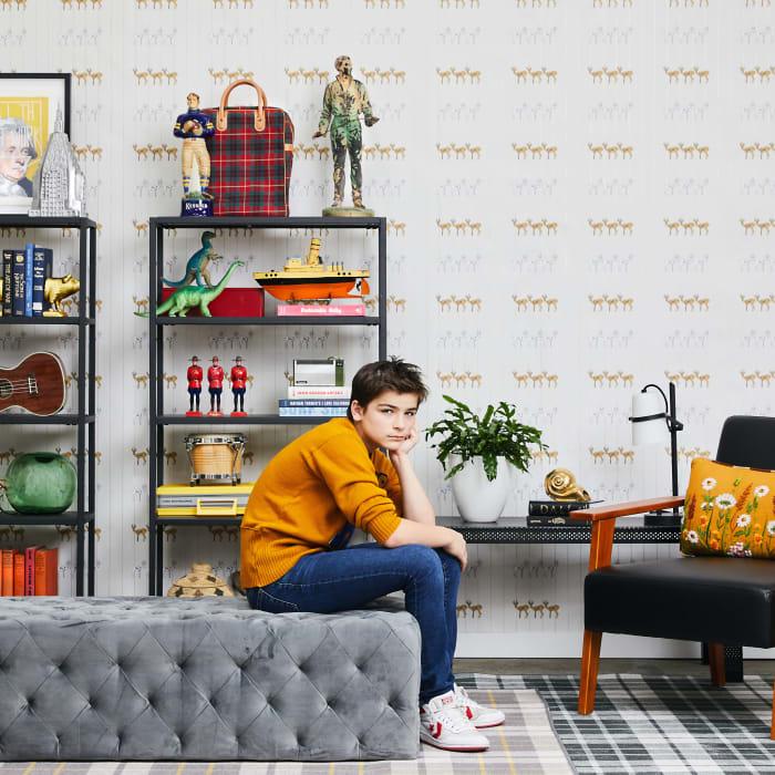 Novogratz Sprit Animal Self-Adhesive Removable Wallpaper