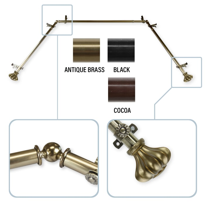 Clove Antique Brass 20