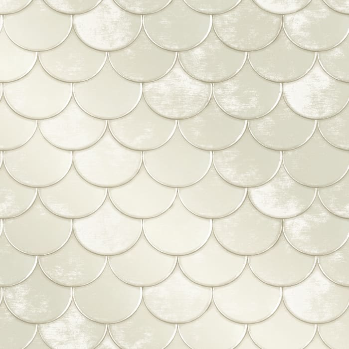 Genevieve Gorder Brass Belly Self-Adhesive Removable Wallpaper
