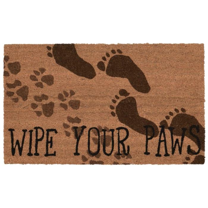 Wipe Your Paws  2' x 3' Doormat