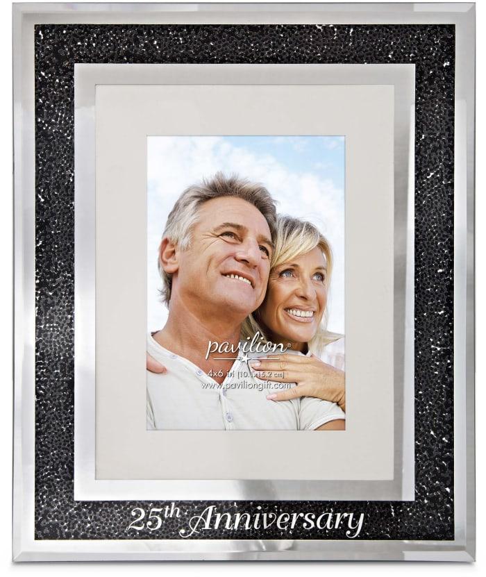 25th Anniversary 4x6 Photo Frame