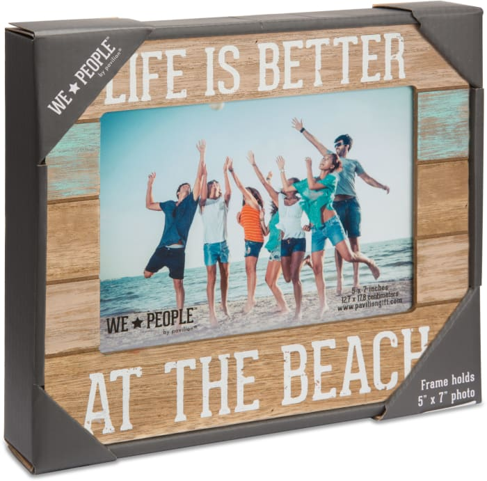Beach Life 5x7 Photo Frame