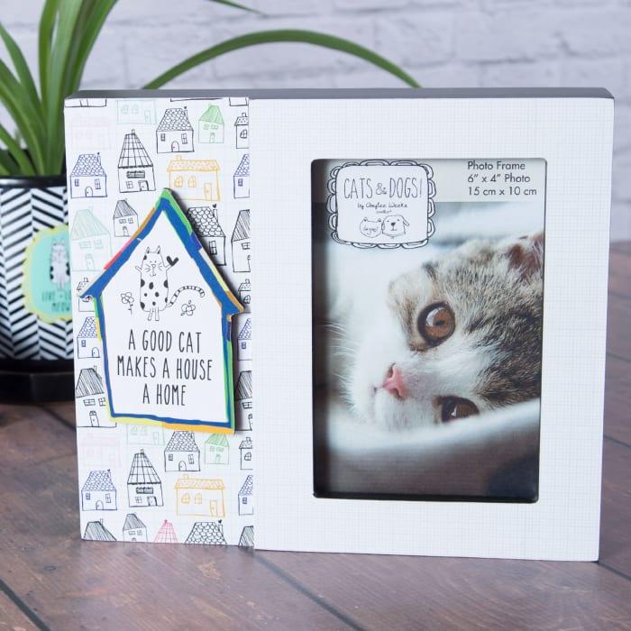 Good Cat 4x6 Photo Frame