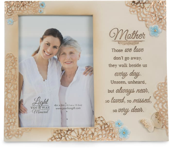 Mother Memorial 4x6 Photo Frame