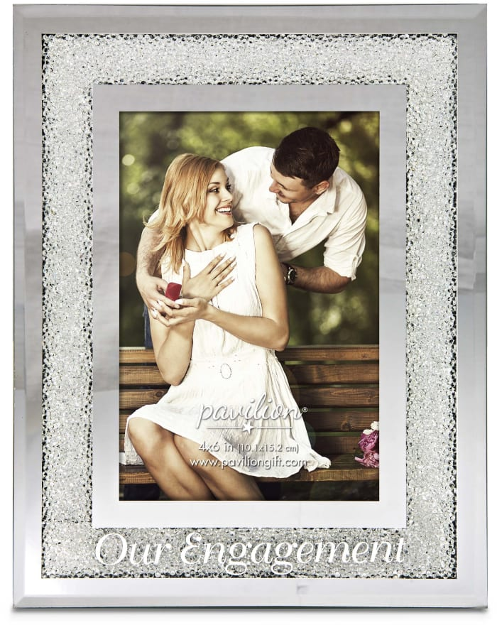 Our Engagement 4x6 Photo Frame