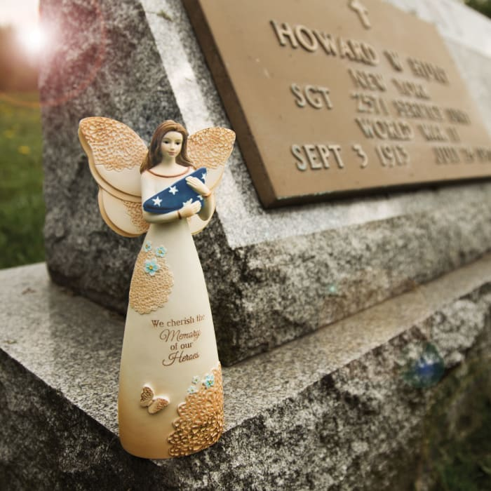 Heroes Memorial Angel Figurine