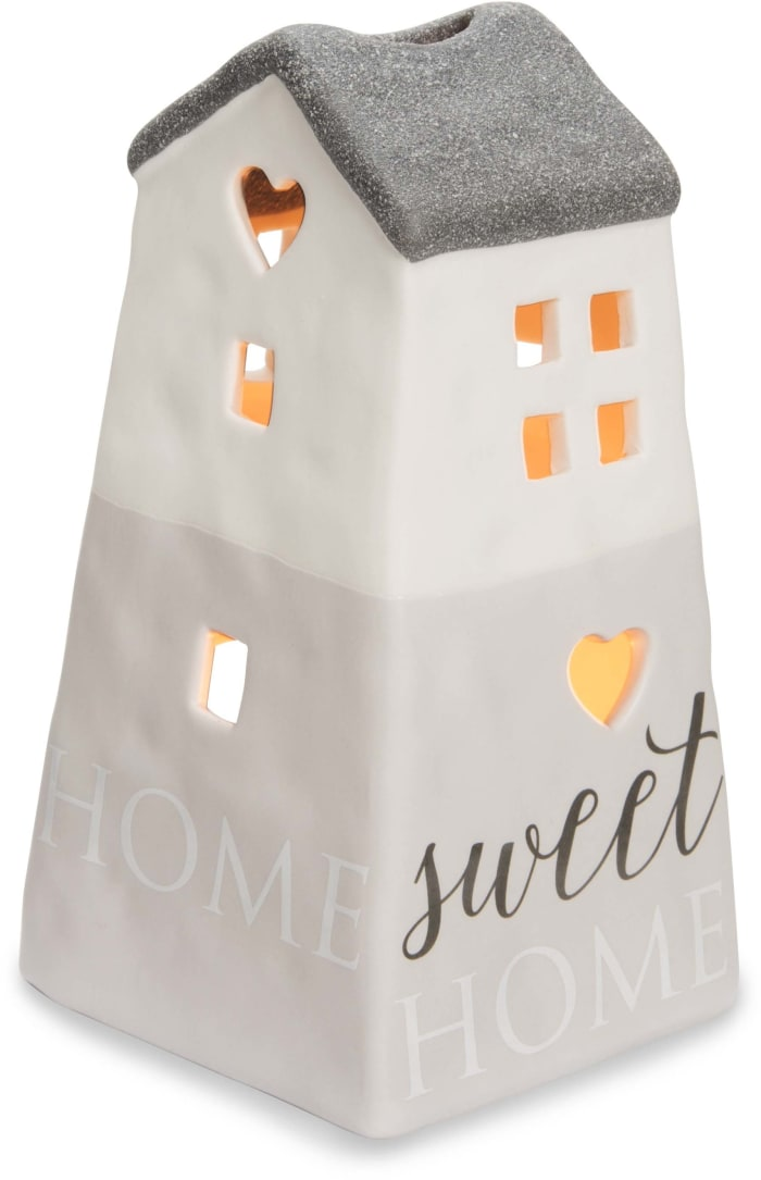 Home Sweet Home Small House Tealight Candle Holder