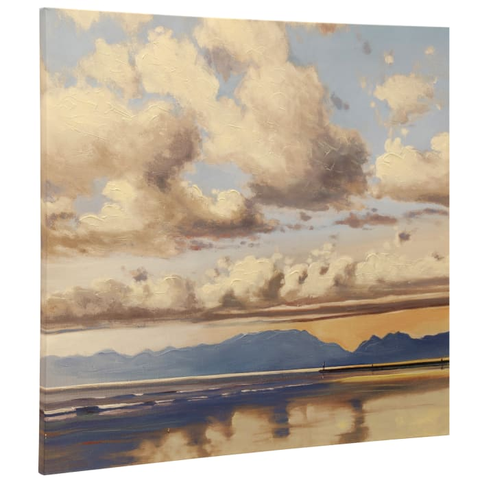 Rolling Clouds Canvas Wall Art
